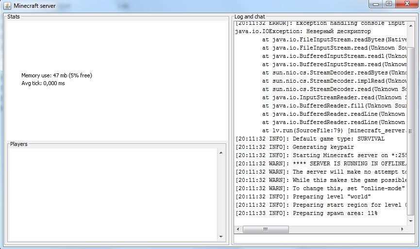 Minecraft server 0.7.10 Forge